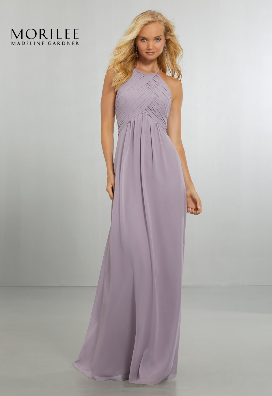Affordable bridesmaid dresses from Mori Lee
