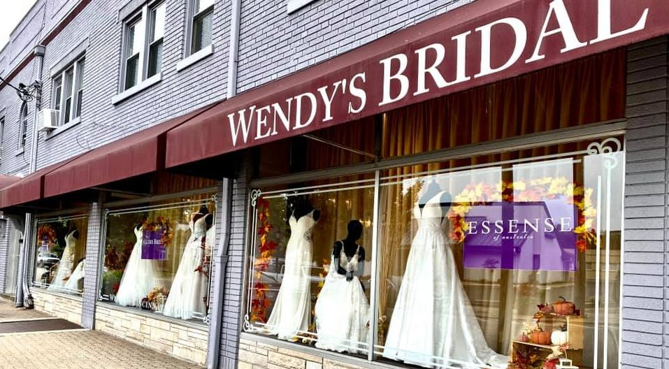 Wendy's Bridal Cincinnati Storefront in the Reading Bridal District