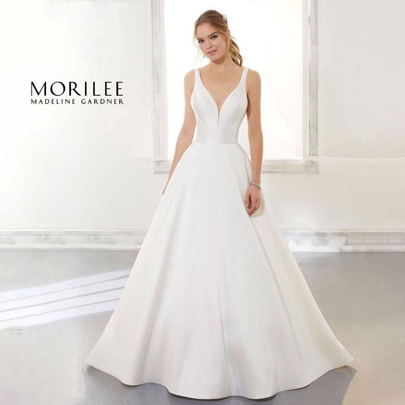 Sleeveless ballgown wedding dress from Morilee by Madeline Gardner