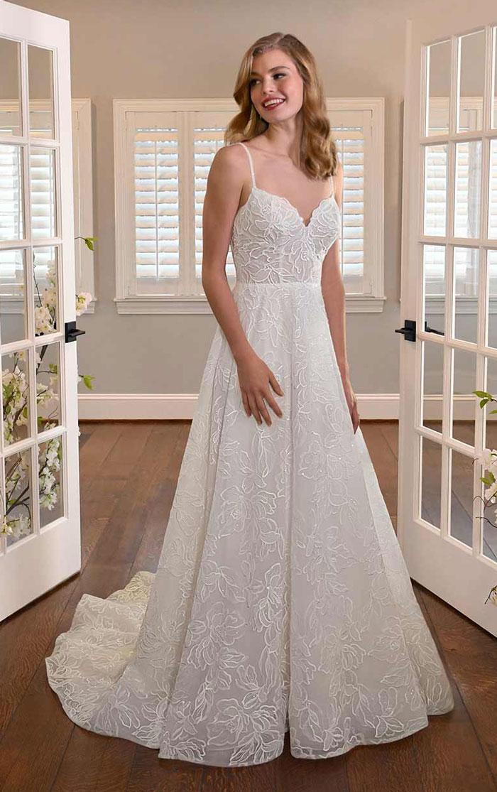wedding-dress-sleeveless-a-line-Essense-D3311