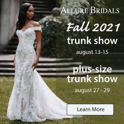 Allure Bridals Trunk Show - Learn More