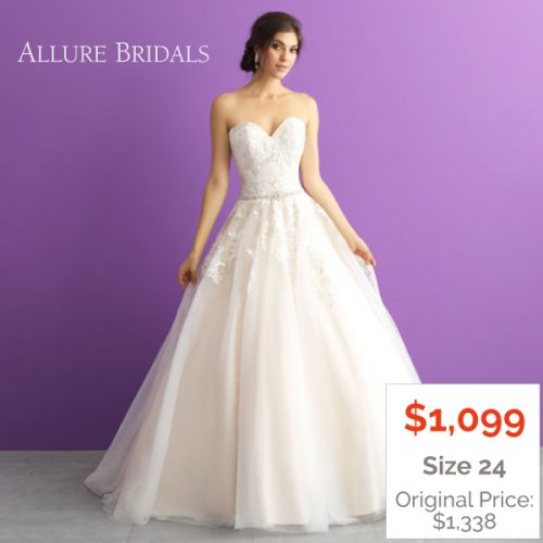 Strapless Ballgown Wedding Dress