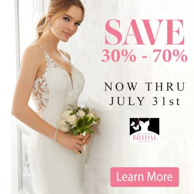 The National Bridal Sale Event - Learn More