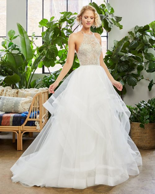 Sleeveless ball gown from Beloved