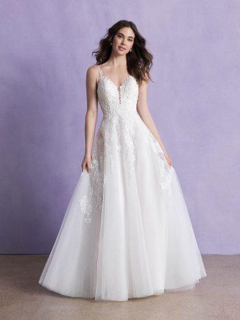 Boho Ballgown Wedding Dress