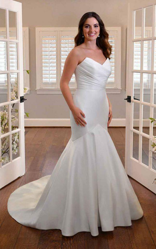 wedding-dress-strapless-fit-flare-Essense-D3340